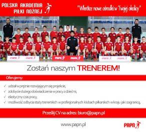 plakat trenerzy
